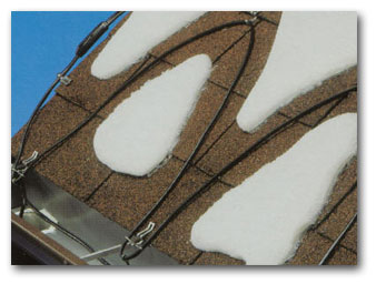 roof heating cables